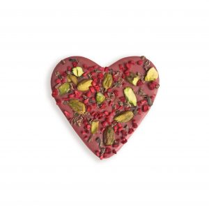 ruby chocolate heart