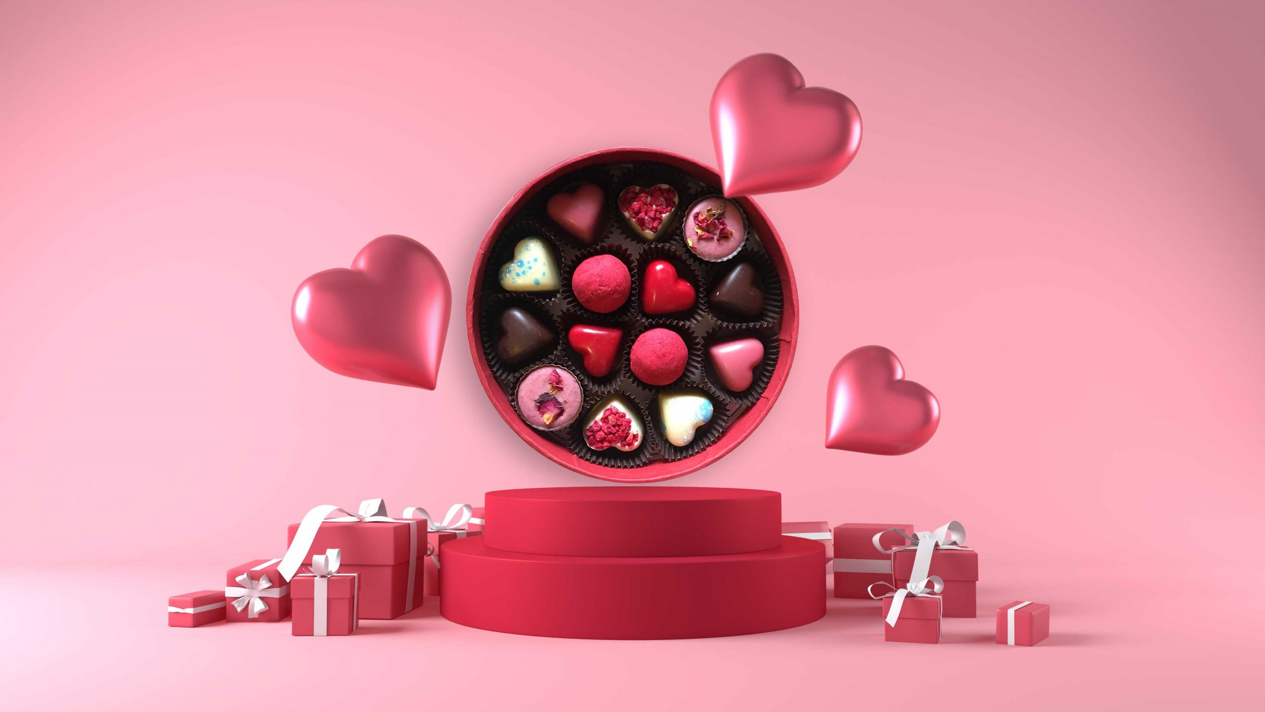 valentine's chocolates vrsna