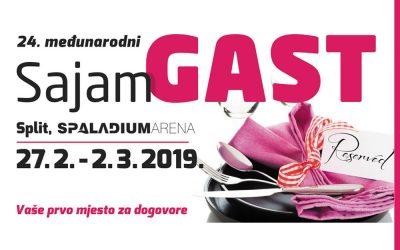 sajam Gast2019 u Splitu