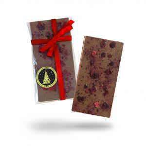 Božićna čokolada s medom i višnjom