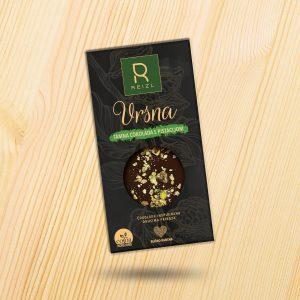 Vrsna Tamna čokolada s pistacijom